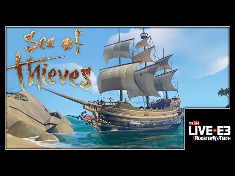 Sea of Thieves GAMEPLAY & Dev Interview - YouTube Live at E3