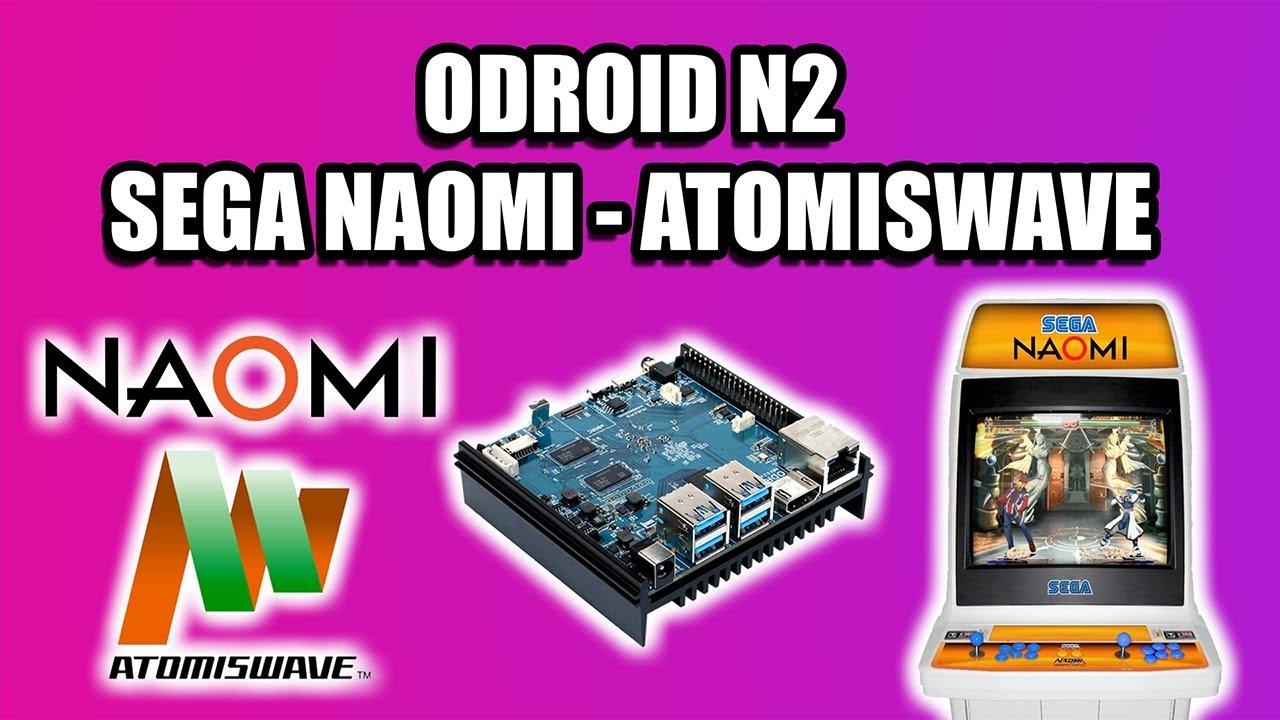 ODROID N2 SEGA NAOMI & ATOMISWAVE TEST - Batocera