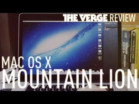 OS X 10.8 Mountain Lion review