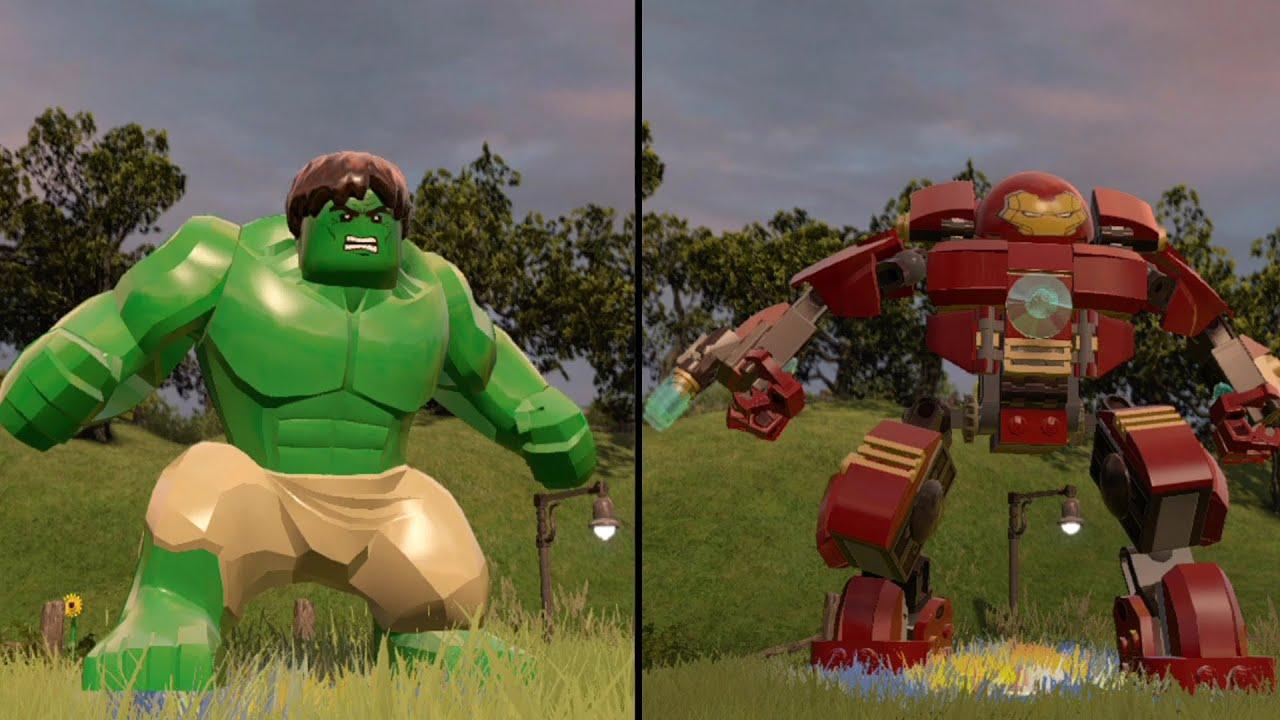 LEGO Marvel's Avengers - Green Hulk vs Hulkbuster - CoOp ...