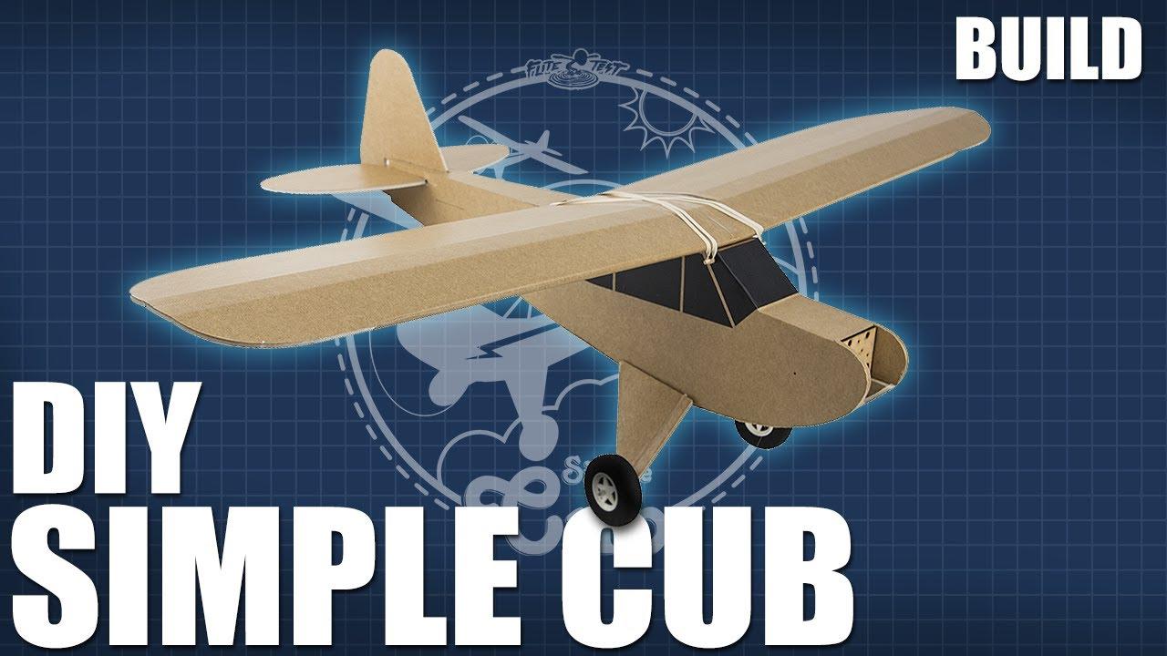 DIY FT Simple Cub   Build   Flite Test
