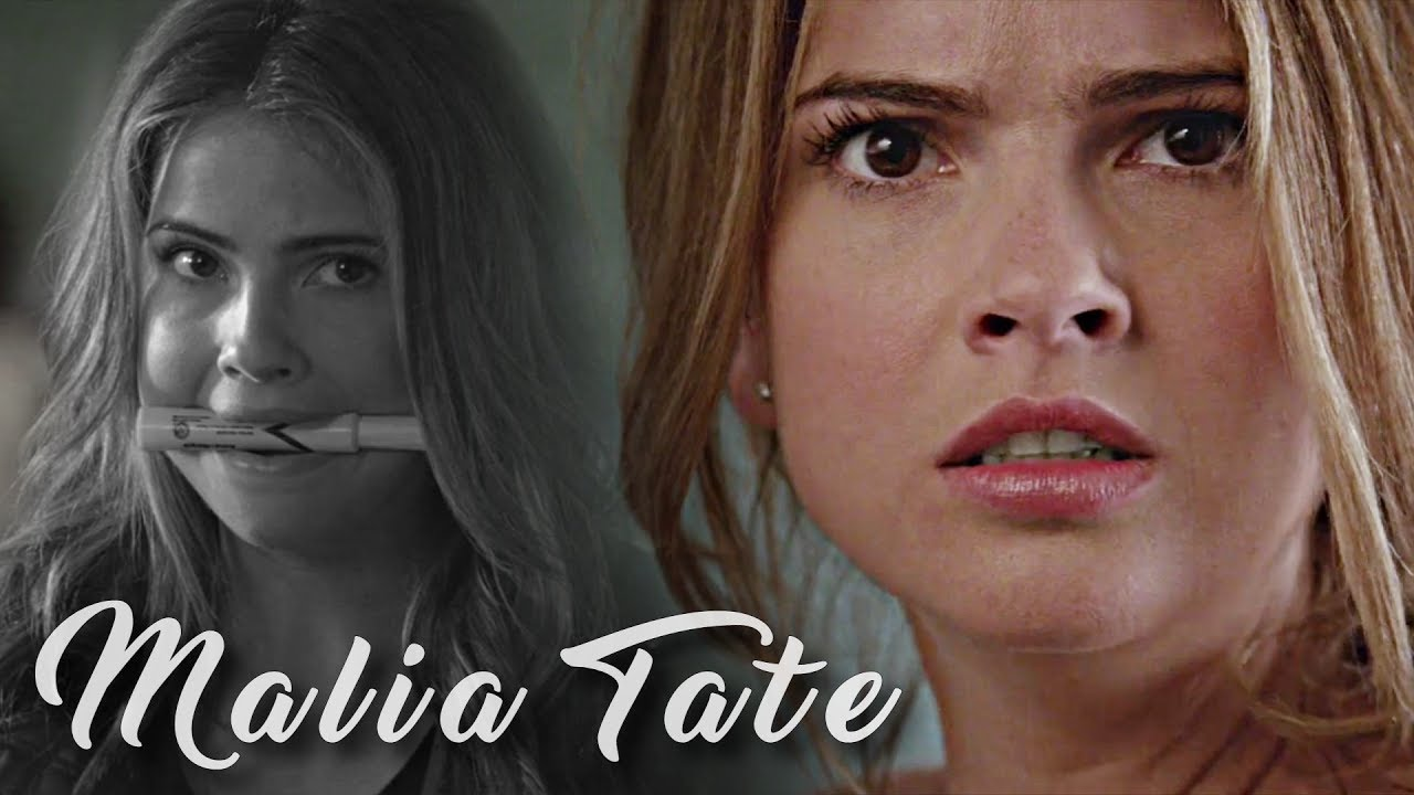 Malia Tate happy dorky scenes | seasons 3 & 4 HD logoless