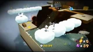 Super Mario Galaxy 2: Whomp Silver Star Speed Run