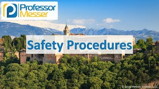 Safety Procedures - CompTIA A+ 220-1002 - 4.4