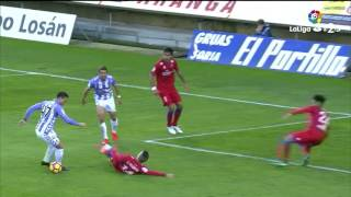 Resumen de CD Numancia vs Real Valladolid (2-1)