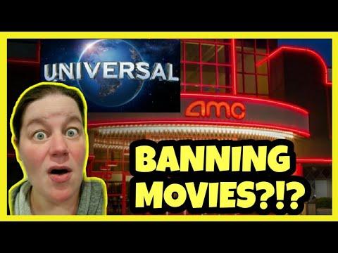 AMC Theatres BANS All Future Universal Movies?!?