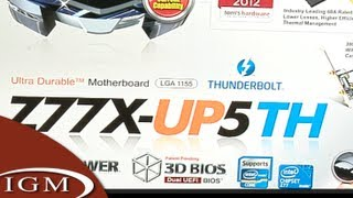 Hackintosh Project: Thunderbolt Hackintosh! Z77X-UP5 TH Motherboard with Thunderbolt (#12)
