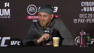 UFC 232: Alexander Gustafsson Post-Fight Press Conference
