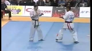 Karate kumite knockouts