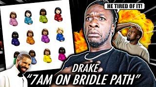 DRAKE SNAPS ON KANYE!   Drake - 7AM On Bridle Path (Certified Lover Boy) (REACTION)