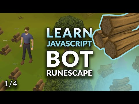 How To Code A RuneScape Bot With RobotJS - Learn JavaScript By Playing RuneScape 1/4