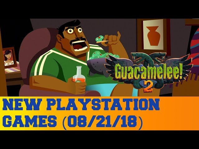 New PlayStation Games for August 21st 2018