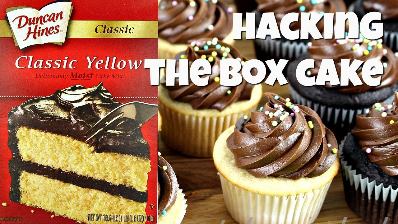 How To Replace The Eggs In A Box Cake Mix Youtube