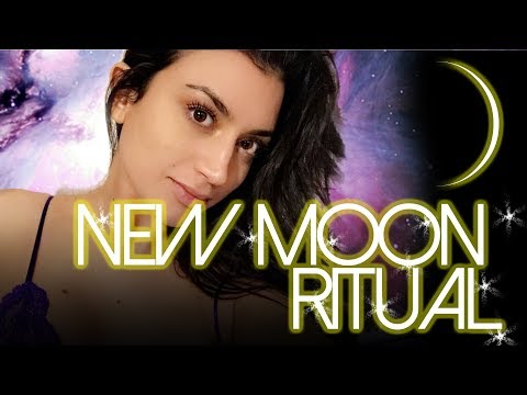 NEW MOON MANIFESTING RITUAL: Use the Law of Attraction at the most POWERFUL time!