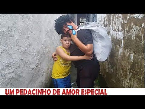 UM PEDACINHO DE AMOR NOVELINHA - ESPECIAL COM O HOMEM DO SACO