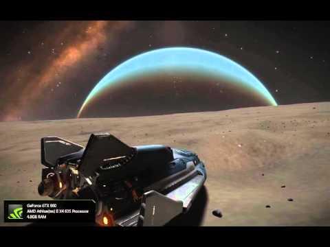 Elite Dangerous Horizons - Super fast moon orbit