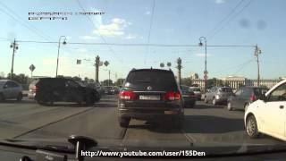 ДТП, Ушаковский мост, Порш vs Мазда