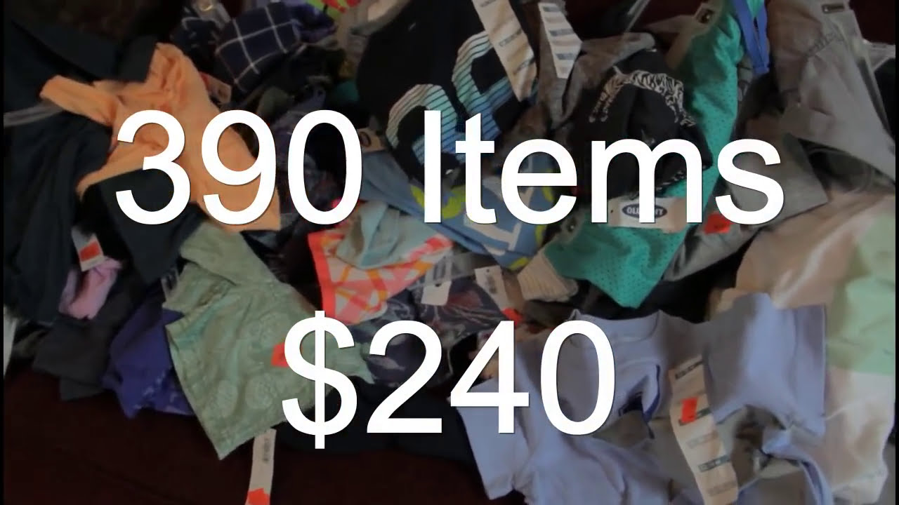 2016 Old Navy Clothes $.33 - YouTube