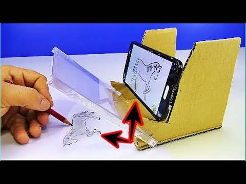 Drawing With Phone - How to make Stand for Drawing With Phone