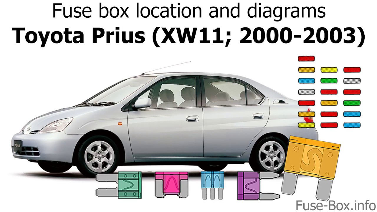 Toyota 2000 Fuse Box - Wiring Diagrams Schema