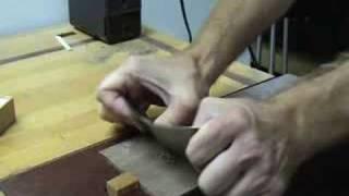 O'brien Guitars - Luthier Tips Du Jour - Scrapers