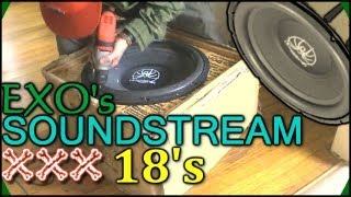 Unboxing EXO's 4th Subwoofer For The 2012 CAR AUDIO INSTALL | My Biggest Car Audio Build EVER