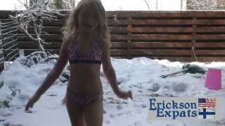 Repeat youtube video Sauna and Snow | Espoo Finland