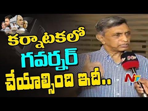 Jayaprakash Narayan Face To Face Over Karnataka GOVT Formation | JP Narayan Supports JDS & Congress