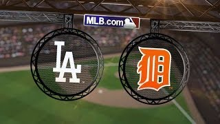 7/8/14: Tigers score 14 unanswered to rout Dodgers