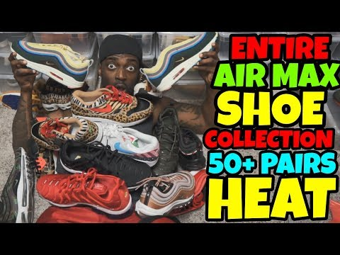 The Best Nike Air Max Collection Over +50 Pairs Of Heat