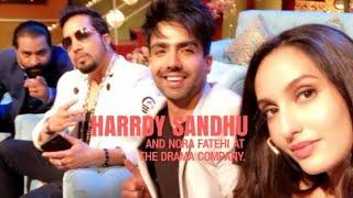 Harrdy Sandhu at The Drama Company, Snapchat Story - 23/12/2017