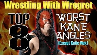 Top 8 Worst Kane Storylines | Wrestling With Wregret