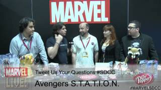 Avengers S.T.A.T.I.O.N. Scientists Explain the Hulk's Transformation at Comic-Con 2014