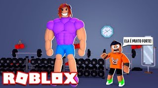 MY FRIEND WAS VERY STRONG at ROBLOX (Roblox Street Fighter Simulator)! WOLFIE