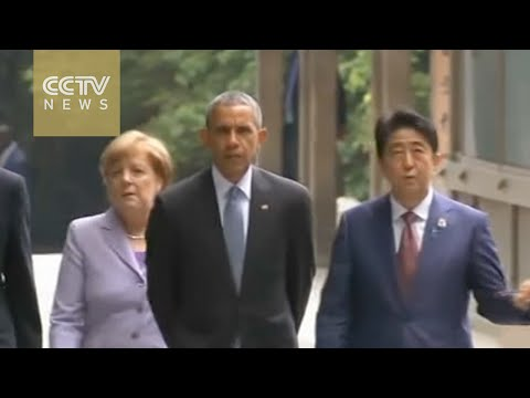 G7 summit topics: Economy, ISIL, refugees