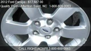 2012 Ford Escape Limited FWD - for sale in Whiteville, NC 28
