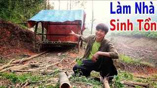 Tập Cuối - Làm Nhà Sinh Tồn Trong Rừng II San Vlog