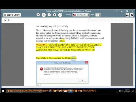 Fix error code 0xc000012f when running installed app in Windows