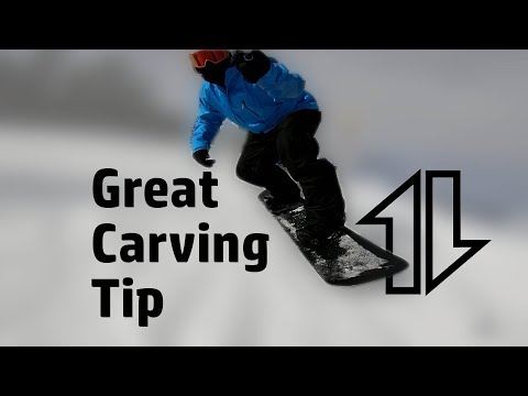 Snowboard Carving Tip