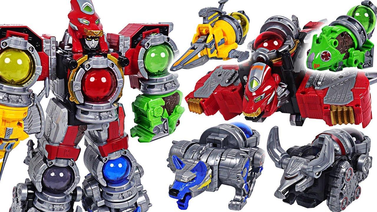 Power Rangers Uchu Sentai Kyuranger Kyutama DX Kyurenoh 5 combine transform! - DuDuPopTOY
