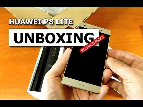 unboxing-huawei-p8-lite-cz-gold---rozbalovačka