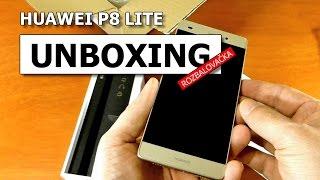 Unboxing Huawei P8 lite cz Gold - rozbalovačka