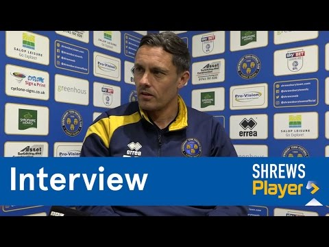 INTERVIEW | Paul Hurst pre Southend United (h) - Town TV