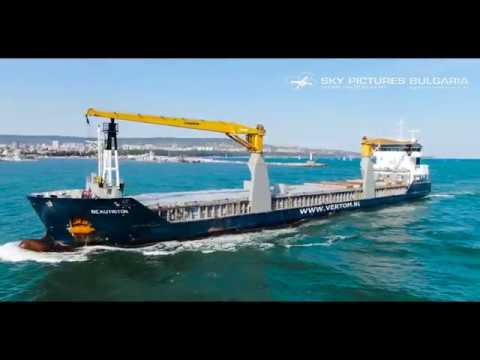 Drone ship inspection Bulgaria aerial service drone Bulgaria Индустия дрон drone survey заснемне