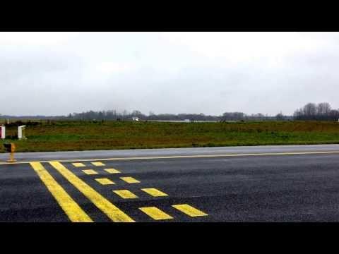JAS 39 Gripen Takeoff from Ämari airbase