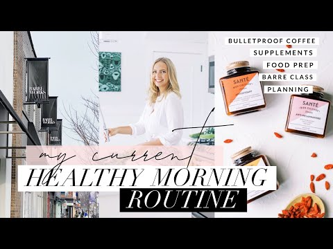 my-healthy-morning-routine-|-bulletproof-coffee,-barre,-skincare,-healthy-snacks-+-more