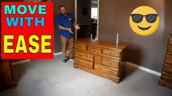 HOW TO MOVE BIG FURNITURE BY YOURSELF
