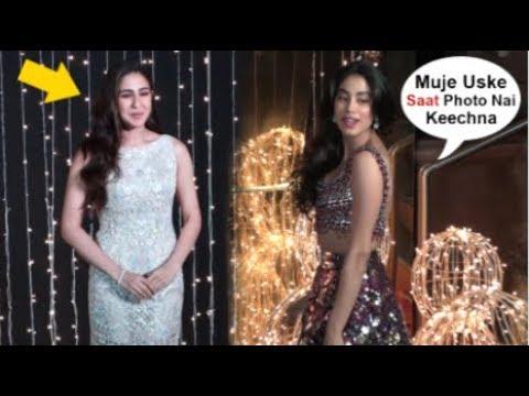 Jhanvi Kapoor Shows ATTITUDE To Sara Ali Khan At Priyanka Nick WEDDING Reception Mp3