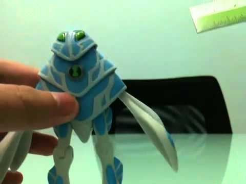 Ben 10 Ultimate Alien Ampfibian Toy Review