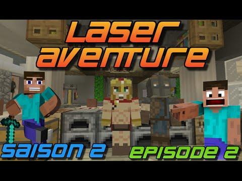 LASER AVENTURE ! | SAISON 2 | MAP AVENTURE | EPISODE 2 !